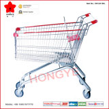 Style europeu Supermarket Shopping Trolley com Baby Seat (OW-EA)