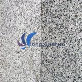 G603自然で白い水晶灰色の自然な石