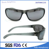 Sport polarizzati unisex Eyewear protettivo di TR con i blocchi per grafici neri opachi