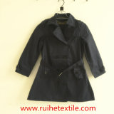 Woven casuale Trench Jacket/Overcoat/Trench Coat per Women