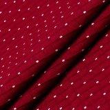 Ткань Knit хлопка проверок с МНОГОТОЧИЕМ