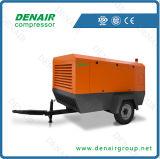 compresor de aire móvil eléctrico de la energía de 220 - de 450 Cfm