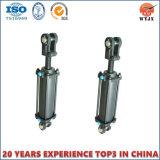Geschweißter oder mit Flansch befestigter Hydrozylinder/Doppelt-verantwortlicher Hydrozylinder