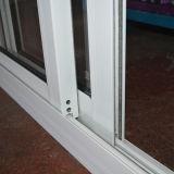 Puder Kz340 überzogenes Andoized Surfacement schiebendes Aluminiumfenster
