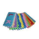 幼稚園のための反細菌のKamiqiのアルファベットのエヴァの泡のジグソーパズルの床のマット