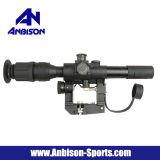 объем снайпера винтовки 4X26 Svd красный загоранный
