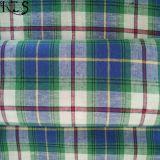 Полотно/сплетенная хлопком пряжа L/C покрасили ткань для рубашек/платья Rlsc21-2FL
