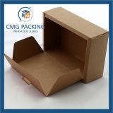Branco e Brown Duas Cores Toalhas Box Gift Boxes