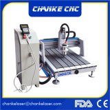 gravador do CNC de /Furniture da porta de madeira do Embossment 6090 3D mini