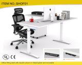 Eletrical鋼鉄システムのオフィス用家具のオフィスの高さの調節可能な机