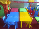 Plastic dell'interno Rectangle Tables per Preschool