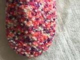 3개의 색깔 탁구 털실 단화