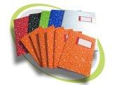 Livros de Compostion do estudante do caderno do diário do Hardcover