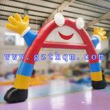 Voûtes gonflables de PVC de prix bas de qualité/voûte gonflable avec l'impression détachable