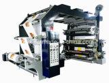 6 Farben-hohe Präzisions-flexographische Drucken-Maschine