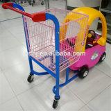 Het Karretje van het Kind van het Karretje van de Jonge geitjes van het Boodschappenwagentje van kinderen voor Supermarkt