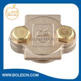 アクセサリDCテープクリップ正方形テープクランプを基づかせている真鍮の接地