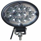 36W Oval LED Work Light para Offroad Jeep