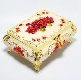 OEM Fancy Pink Jewelry Box/Luxury Clamshell Ring BoxかNecklace Box