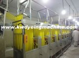 High Speed를 가진 공단 Ribbons Continuous Dyeing&Finishing Machine