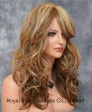 L'alta qualità esporta la parrucca europea ed americana dei capelli di modo