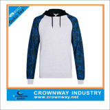 Sublimation su ordinazione Printed Sleeve Hoodies per Men