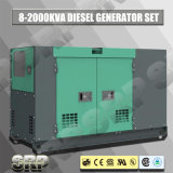 генератор 225kVA 50Hz звукоизоляционный тепловозный приведенный в действие Perkins (SDG225PS)