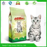 Sac comique stratifié composé imprimé par coutume d'aliment pour animaux familiers