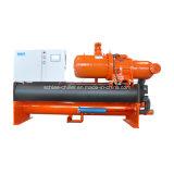 élément refroidi à l'eau industriel de refroidisseur d'eau de la vis 71kw~1242kw pour la centrale pharmaceutique