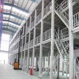 Plataforma del suelo de entresuelo de la estructura de acero