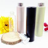 Botella de perfume de aluminio colorido para el empaquetado cosmético