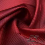 вода 50d 290t & Ветр-Упорной способа куртки ткань 100% нити пряжи полиэфира жаккарда шотландки вниз сплетенная курткой катионоактивный (X030)