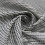 Agua y de la manera de la chaqueta tela catiónica tejida chaqueta Viento-Resistente 100% del filamento del hilado del poliester del telar jacquar de la tela escocesa abajo (X031)