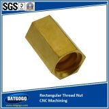 C3600 Hexagon Nut Turning com CNC Machined
