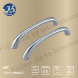 304 acero inoxidable Baño puerta en forma de L Manija (A07)