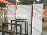 Mármore branco de Volakas para telhas do assoalho/parede/bancada/mosaico
