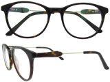Manier om Glazen van het Frame van China Eyewear van de Acetaat de Hand Opgepoetste voor Dames