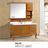 Alta qualità Floor Standing Wood Bathroom Vanity con Side Cabiet
