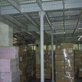 Suelo de entresuelo resistente del almacén del surtidor del estante del almacenaje