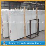 Слябы дешевого снежка Китая белые мраморный для Countertops, верхних частей тщеты