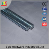 Niedriger Preis DIN975 heiße galvanisierte verlegte Rod