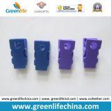 Clip en plastique d'insigne de bureau d'identification du trou Dia6mm/4mm dans des couleurs faites sur commande