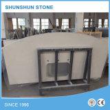 Bancadas & partes superiores de pedra brancas da vaidade para o banheiro e a cozinha