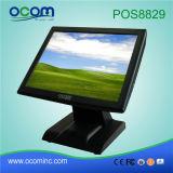 caisse 15inch enregistreuse électronique avec l'écran LCD pour le système de position (POS8829)