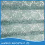 Tela de seda del cordón, tela verde Mint del cordón