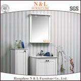 Cabina de cuarto de baño plástica moderna del PVC del MDF del fabricante