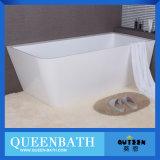 Tina de acrílico libre modificada para requisitos particulares, pequeña bañera de la buena calidad (JR-B831)