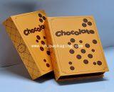 Caixa de papel dos doces rígidos da caixa do chocolate da forma do livro da alta qualidade