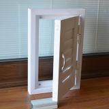 Kz337 sola ventana del obturador del marco del perfil blanco del color UPVC