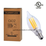 높은 Quality 2200k 2700k LED Filament Lamp
